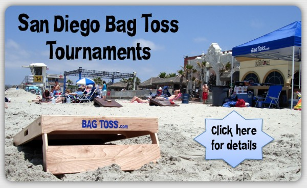 Bag Toss Cornhole tournaments in San Diego OMBAC