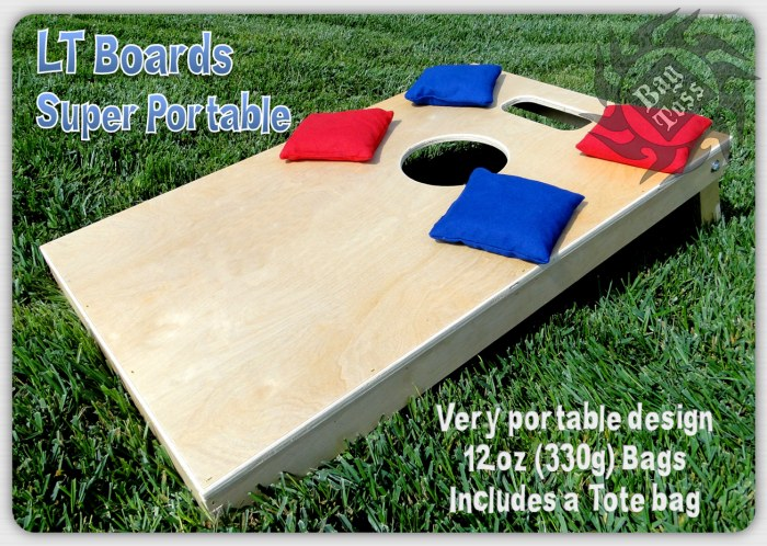 Bag Toss Semi Pro LT Board Set